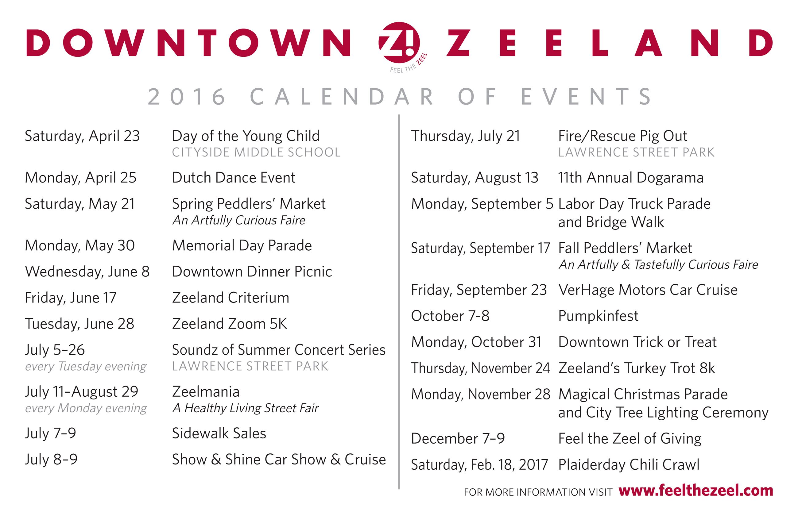 downtown zeeland calendar of events 2016_Page_1