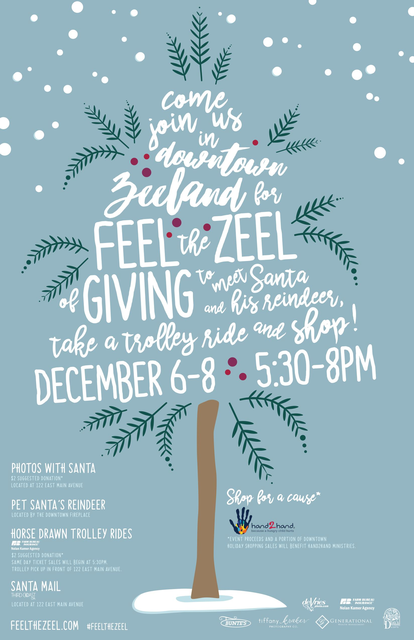 2017 feel the zeel of giving poster