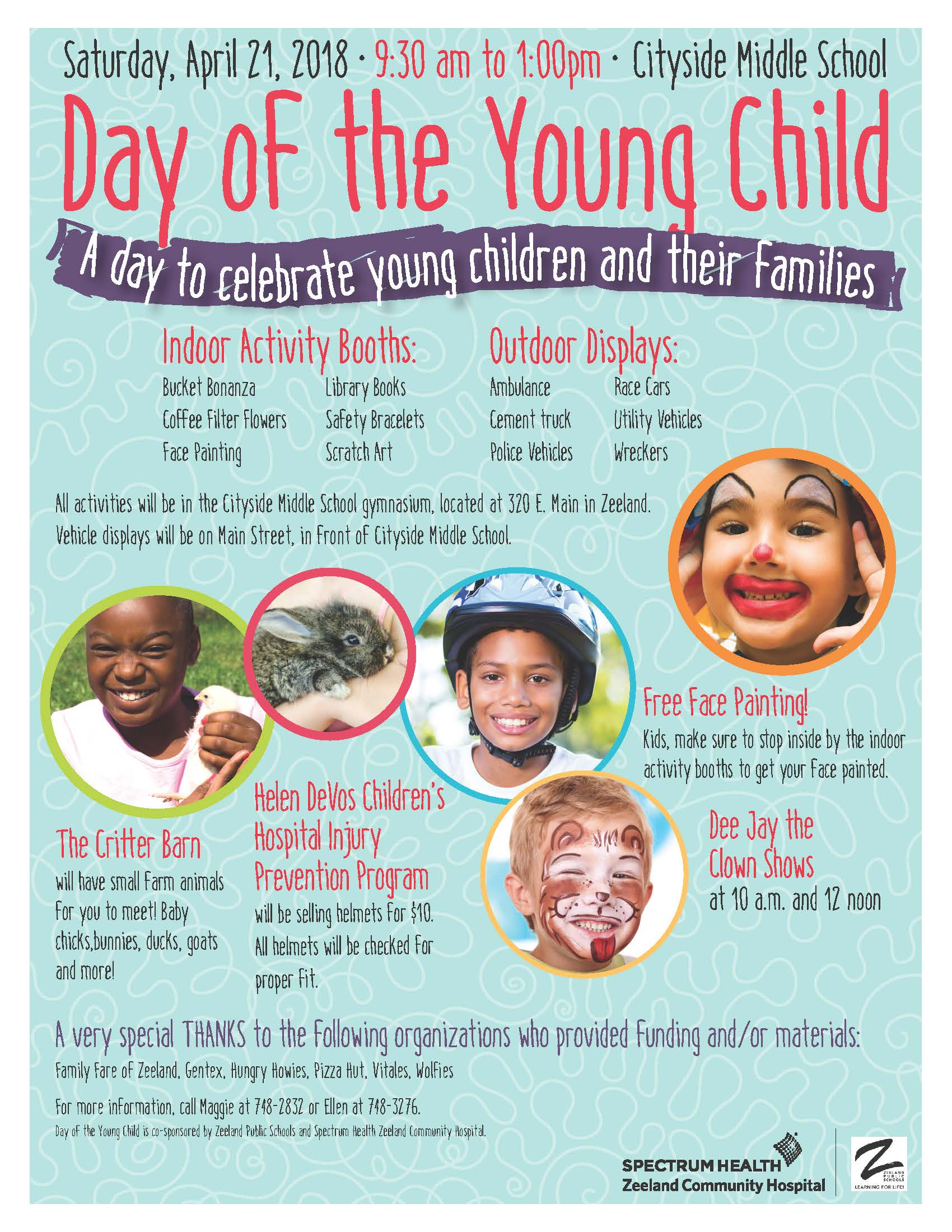 Day of the Young Child Flyer-2018