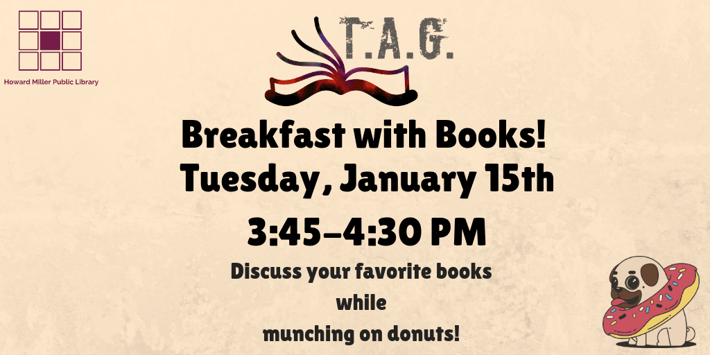 TAG Breakfast with books Jan 2019