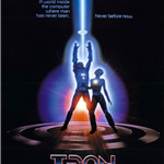 Original Tron Movie Poster