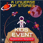 Registration Required Kids Summer Reading Event Image