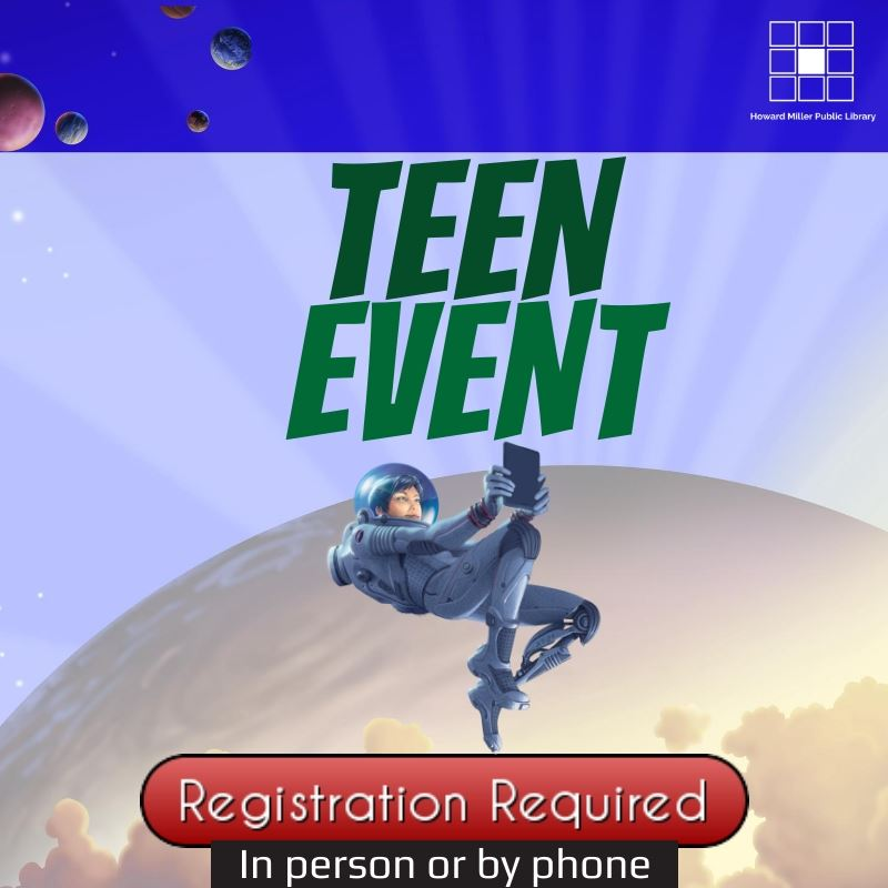 Registration Required Teen Summer Reading Event Image