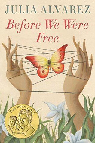 Before We Were Free Book Cover Big Read Tween Young Adult Book 2019