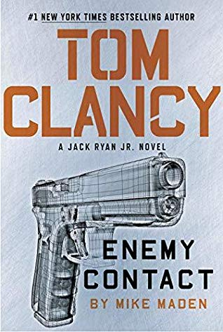 Tom Clancy Enemy Contact Book Cover