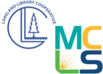 Lakeland Library Cooperative and MCLS Logos