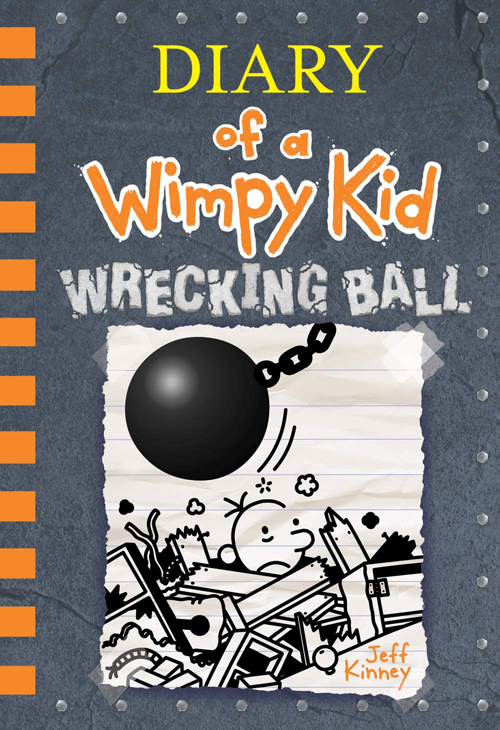 Diary of a Wimpy Kid Wrecking Ball Book Cover