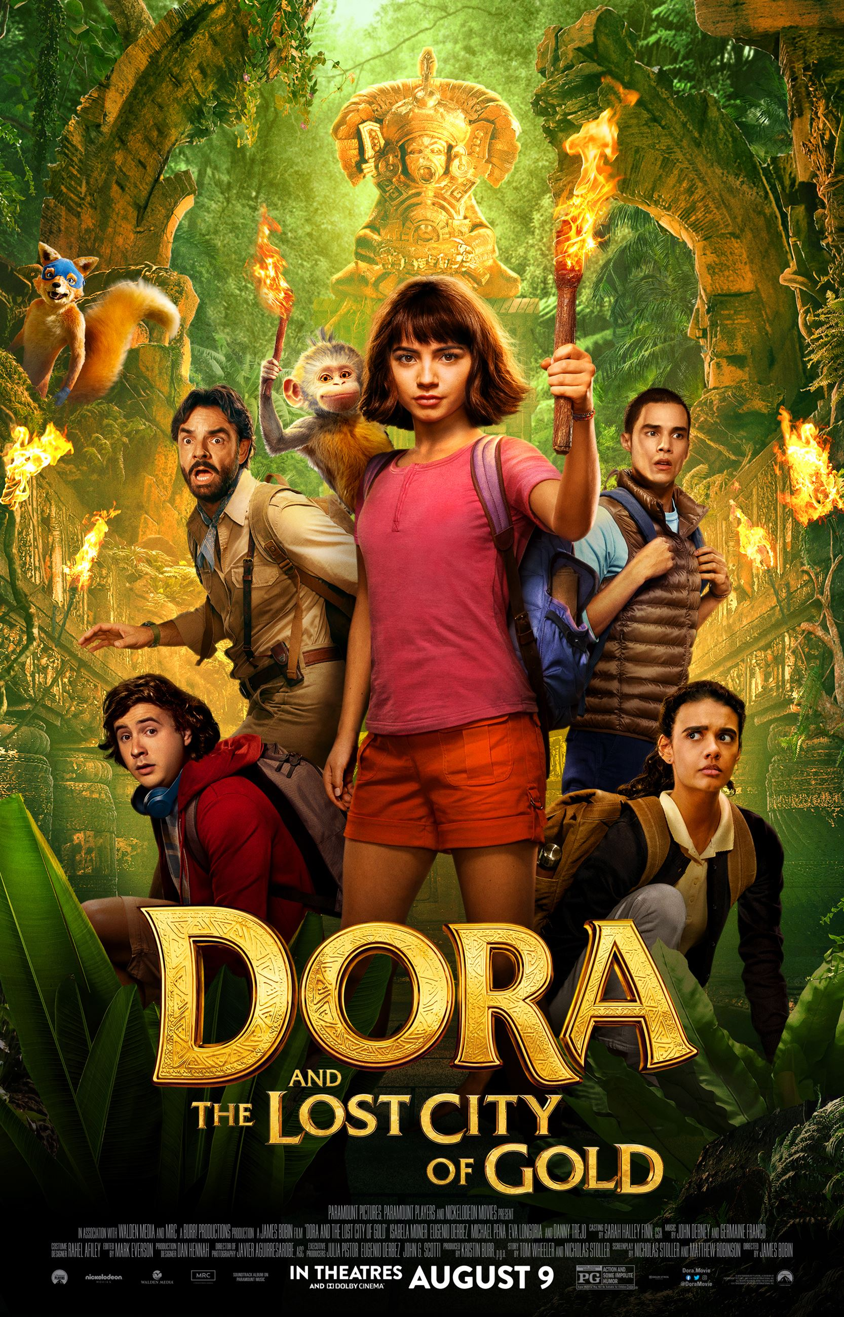 Dora the Explorer Movie Poster