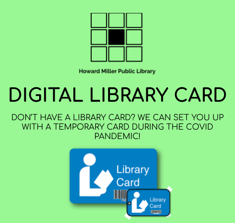 Getting a library card during Covid