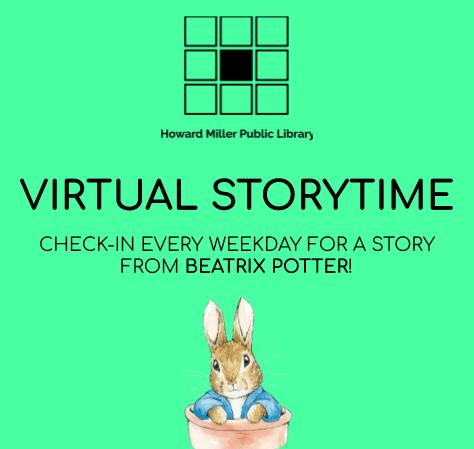 Virtual Beatrix Potter Storytime
