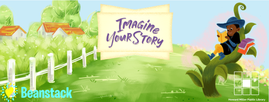 Children Summer Reading Imagine Your Story Banner with logos