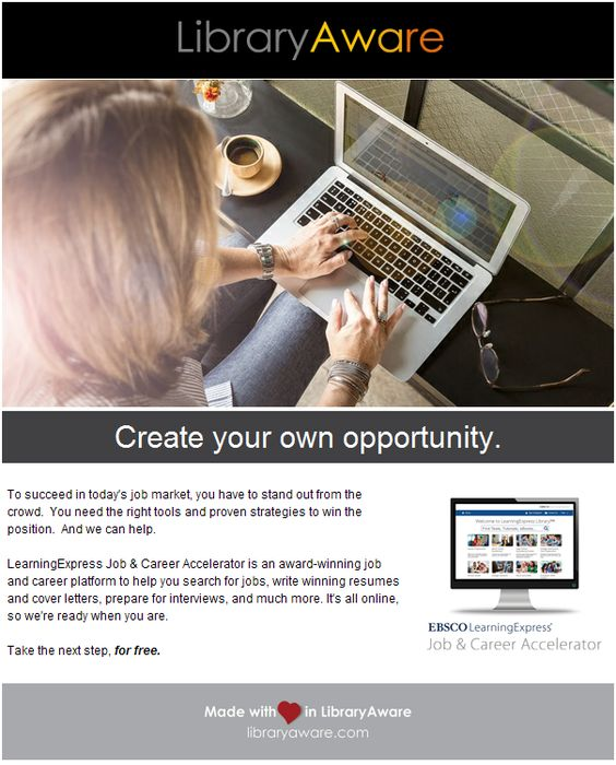 EBSCO LearningExpress Job Hunt