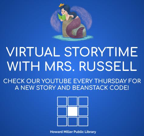 Virtual Storytime with Mrs. Russell