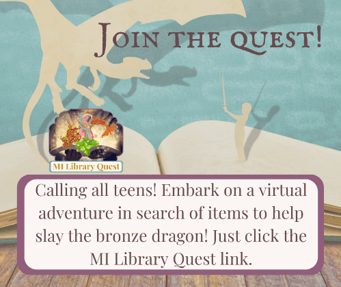 Calling all teens embark on a virtual adventure in search of items to help slay the bronze dragon