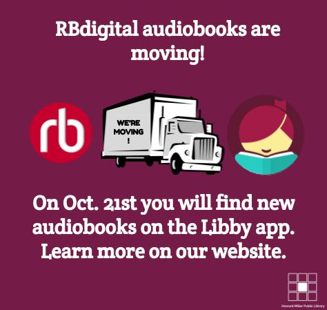 RBdigital to become Libby for audiobooks